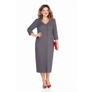 TEZA 255 Платье (серый)