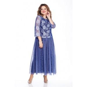 TEZA 262 Платье (синий)