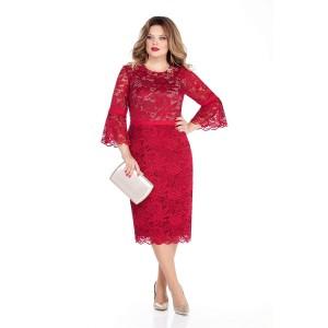 TEZA 263 Платье (красный)
