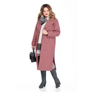TEZA 267 Пальто (розовый)
