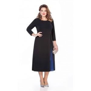 TEZA 271 Платье (черный/синий)