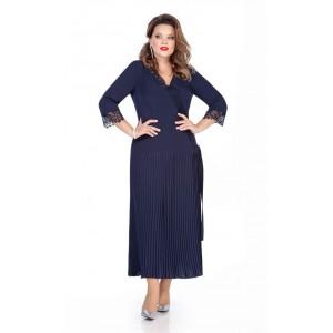 TEZA 272 Платье (темно-синий)