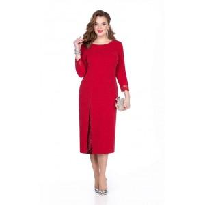 TEZA 273 Платье (красный)