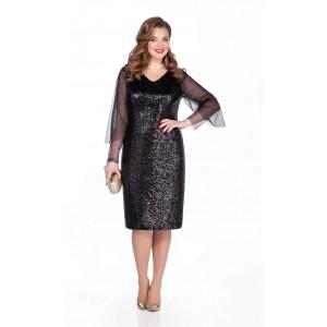 TEZA 274 Платье (черный)