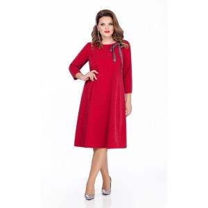 TEZA 281 Платье (красный)
