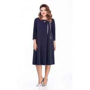 TEZA 281 Платье (темно-синий)