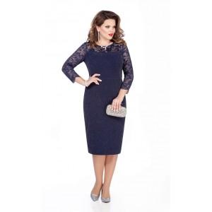 TEZA 291 Платье (темно-синий)