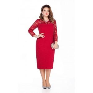 TEZA 291 Платье (красный)