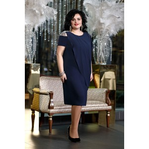 TVOJ IMIDZH 8971 Платье (темно-синий)