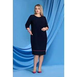 TVOJ IMIDZH 9047 Платье (черный)
