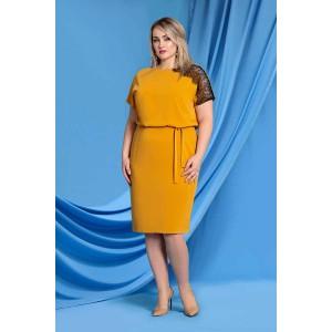 TVOJ IMIDZH 9060 Платье (желтый)