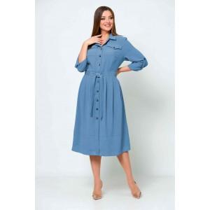 ASOLIYA  2539-2 голубой Платье