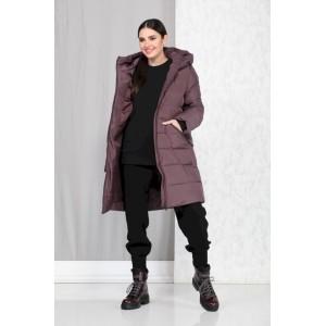 BEAUTIFUL-FREE 4004 тёмно-розовый Пальто