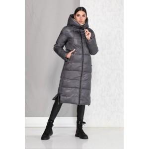 BEAUTIFUL-FREE 4005 серый Пальто