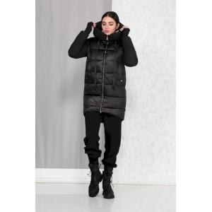 BEAUTIFUL-FREE 4009 чёрный Пальто
