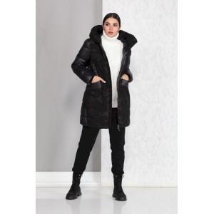 BEAUTIFUL-FREE 4012 черный Пальто