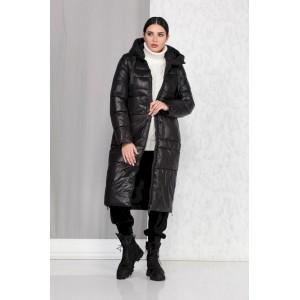 BEAUTIFUL-FREE 4013 чёрный Пальто