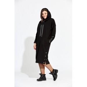 BEGIMODA 1003 черный Платье