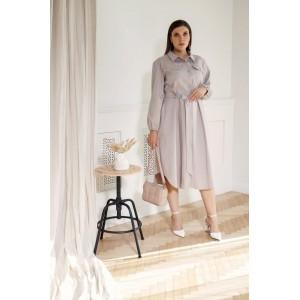 BEGIMODA 1006 песочный Платье