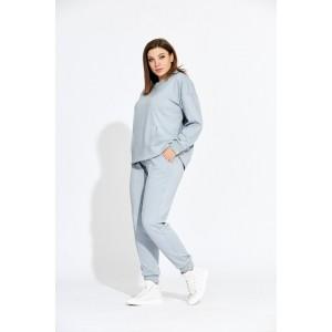 BEGIMODA 3001 голубой Спортивный костюм