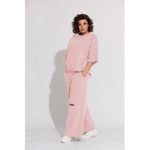 BEGIMODA 3012 розовый Спортивный костюм