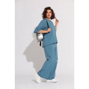 BEGIMODA 3012 синий Спортивный костюм