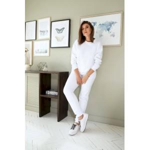 BEGIMODA 3015 белый Спортивный костюм