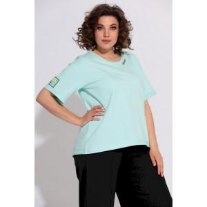 BEGIMODA 4004 мятный Блуза