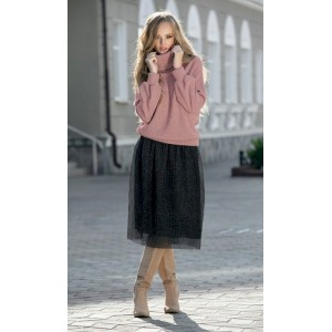 DIVA 1182-1 розовый Костюм юбочный