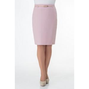 ELITEMODA 3162 розовый Юбка