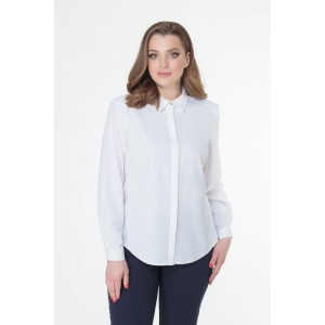 ELITEMODA 5037 белый Блуза