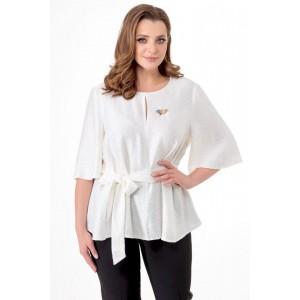 ELITEMODA 5189 молочный Блуза