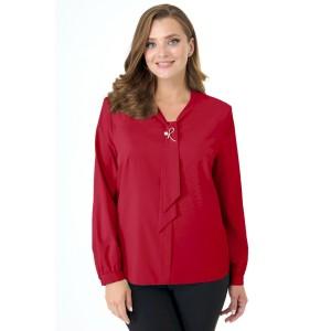 ELITEMODA 5215 красный Блуза