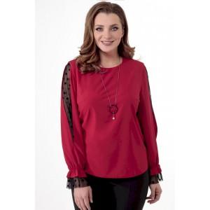 ELITEMODA 5231 красный Блуза