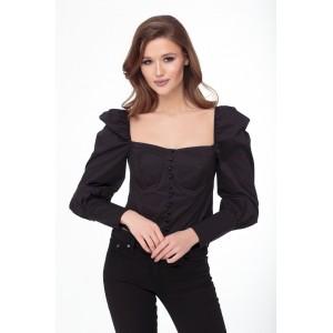 ELITEMODA 5236 черный Блуза