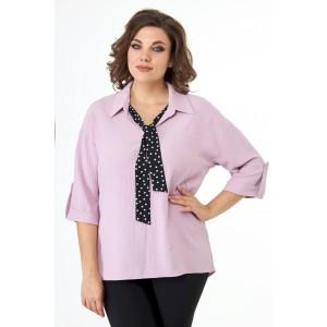 ELITEMODA 5243 розовый Блуза