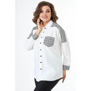 ELITEMODA 5246 молочный Блуза