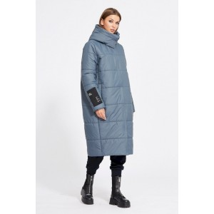 EOLA STYLE 2079 серо-синий Пальто
