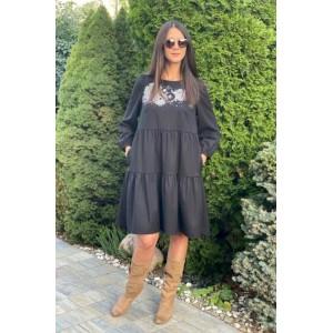 FAUFILURE С1140 черный Платье
