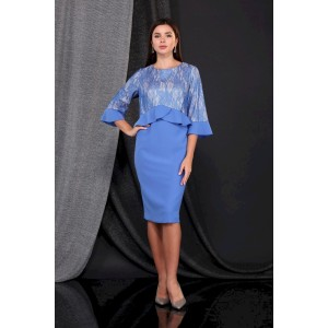 FAUFILURE С873 темно-голубой Платье