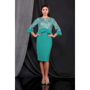 FAUFILURE С873 зеленый Платье