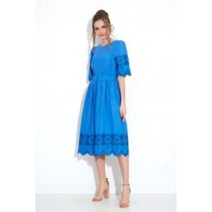 GIZART 7509-1син Платье
