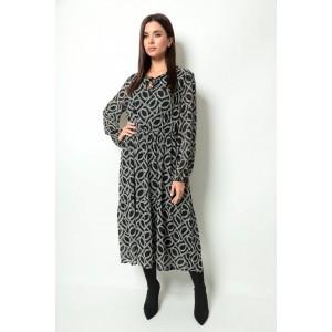 MICHEL-CHIC 2061 черный-цепи Платье