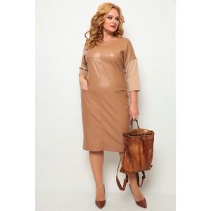 MICHEL-CHIC 2068 бежевый Платье