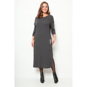 MICHEL-CHIC 2071 графитовый Платье