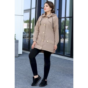 MODA-URS 2576 бежевый Куртка