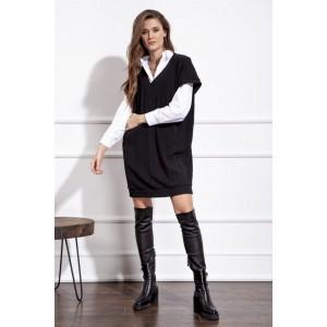 NOVA LINE 50121 черный Платье