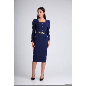 SANDYNA 130115 синий Платье