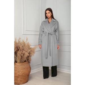 SANDYNA 13814 серый Пальто