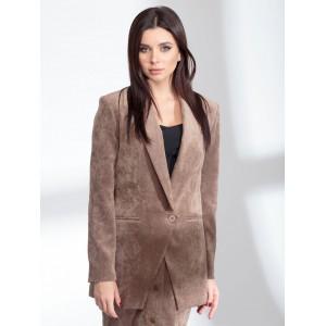 SANDYNA 13904 серо-коричневый Жакет